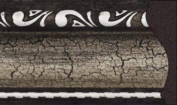 Карниз потолочный в сборе без поворотов с багетной планкой (профиль 01-01)