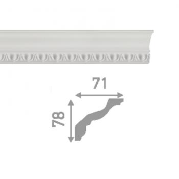 Плинтус потолочный инжекционный LP-P13