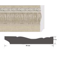 Багет интерьерный 1295-04К