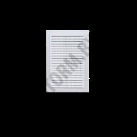 Вентрешетка клеевая 170х240мм + сетка