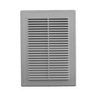 Решетка вентиляционная в рамке с сеткой 185/255 (люкс)