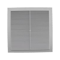 Решетка вентиляционная клеевая с москитной сеткой 300/300 (люкс)