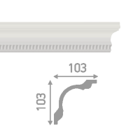 Плинтус потолочный инжекционный LP-P6