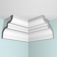 Уголок потолочный внутренний П02 65/80