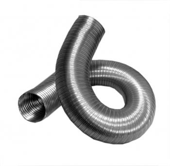 Воздуховод профессиональный  толщина алюминия 80 мКм