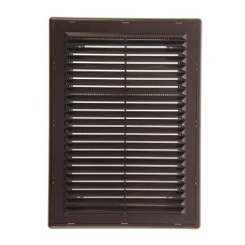 Решетка вентиляционная в рамке с сеткой 150/200 (люкс)