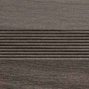 Стык алюминиевый универсальный Русский профиль, 28 мм Дуб марон
