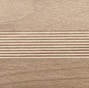 Стык алюминиевый универсальный Русский профиль, 28 мм Дуб жемчужный