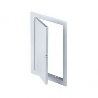 DM 91  Дверца метал. белая (30*30)