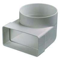 Соединительное колено плоских и круглых каналов 55*110/d100.60*120/d100.