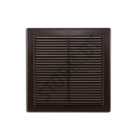 Вентрешетка разборная в рамке 250х250мм + сетка