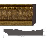Багет интерьерный 1295/2-425