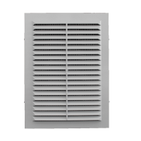 Решетка вентиляционная клеевая с москитной сеткой 135/185 (люкс)