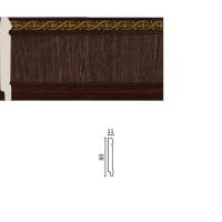 Плинтус малый с каб.кан. 144-1
