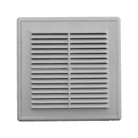 Решетка вентиляционная в рамке с сеткой 162/162 (люкс)