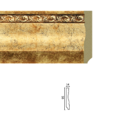 Плинтус широкий 153-552