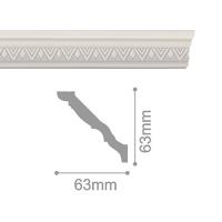 Плинтус потолочный С 168/90, 2м
