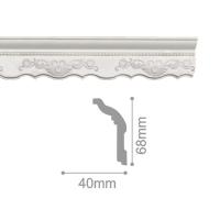 Плинтус потолочный С 170/90, 2м
