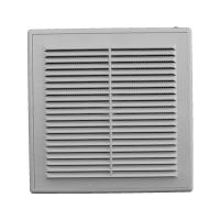Решетка вентиляционная в рамке с сеткой 200/200 (люкс)