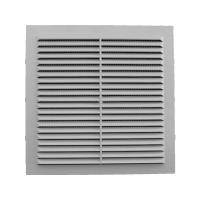Решетка вентиляционная клеевая с москитной сеткой 185/185 (люкс)