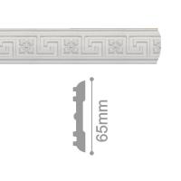 Плинтус потолочный С 205/65, 2м