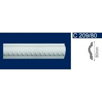 Плинтус потолочный С 209/80, 2м