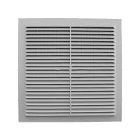 Решетка вентиляционная клеевая с москитной сеткой 235/235 (люкс)