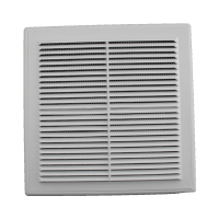 Решетка вентиляционная в рамке с сеткой 250/250 (люкс)