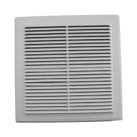 Решетка вентиляционная в рамке с сеткой 210/210 (люкс)