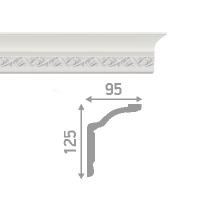 Плинтус потолочный инжекционный LP-P3