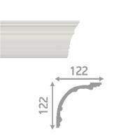Плинтус потолочный инжекционный LP-P4
