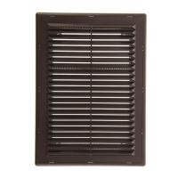 Решетка вентиляционная в рамке с сеткой 206/300