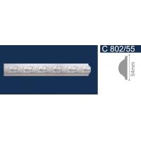 Плинтус потолочный С 802/55, 2м