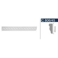 Плинтус потолочный С 806/45 2 м