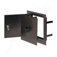 DMW 79 AN Дверца двойная метал, антик. (15*25) для дымоход.