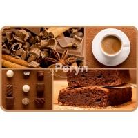 Панель ПВХ 0,3 салфетка «Какао»