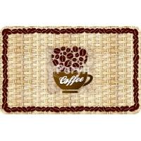 Панель ПВХ 0,3 салфетка «Кофейные зерна»